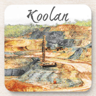 In the Pit - Koolan, Beverage Coaster