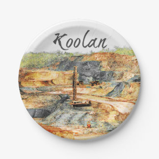In the Pit - Koolan Paper Plate