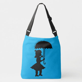 In The Rain With A Frog Crossbody Bag