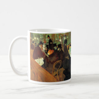 In the Rouge by Toulouse-Lautrec Basic White Mug