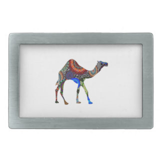 IN THE SAHARA RECTANGULAR BELT BUCKLE