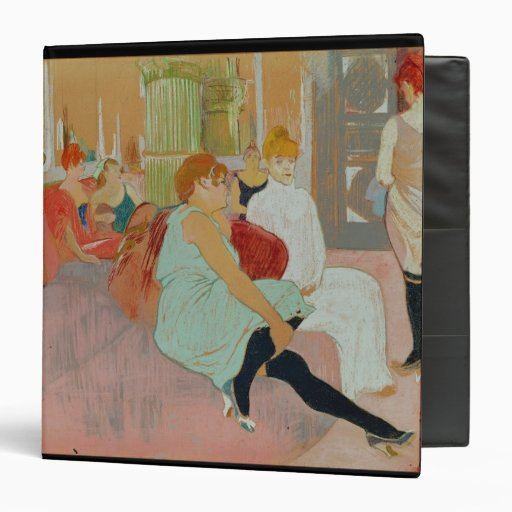 In the Salon at the Rue des Moulins, 1894 Binders