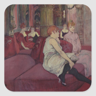 In the Salon at the Rue des Moulins, 1894 Sticker