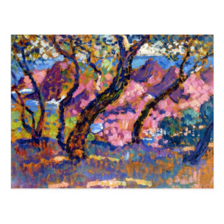 In the Shade of the Pines by Theo van Rysselberghe Postcard