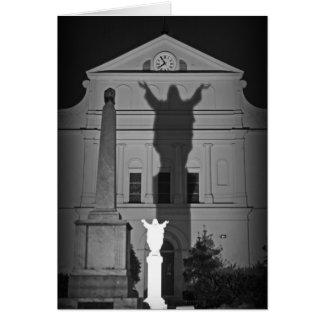 In the shadow of Jesus Card