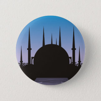 In the Shadow of Mecca 2 Inch Round Button