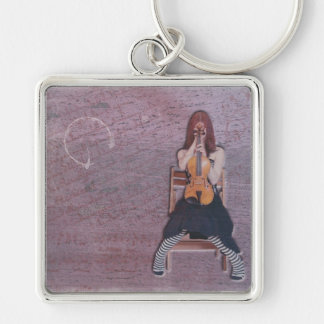 In The Shadows of Music Keychain