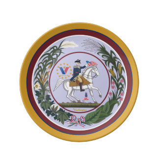 In the Spirit of Washington Porcelain Plate