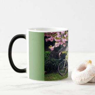 In the spring garden magic mug