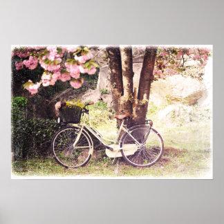 In the spring garden poster