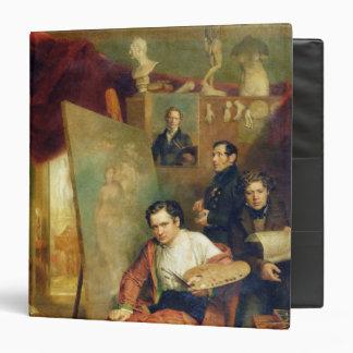 In the studio of the painter, 1832 binder