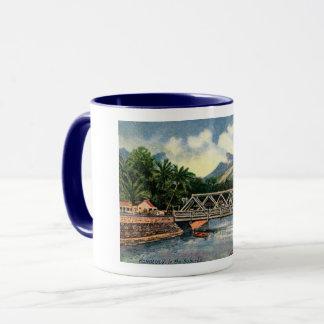 In the Suburbs, Honolulu, Hawaii Vintage Mug