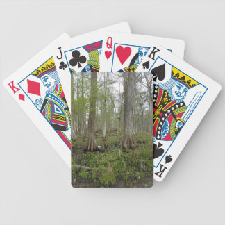 In the Swamp Bicycle Playing Cards