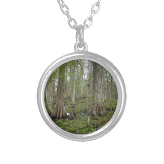 In the Swamp Silver Plated Necklace
