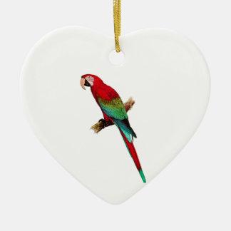 In The Tiki Room Ceramic Heart Ornament