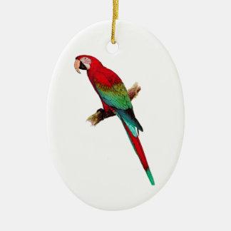 In The Tiki Room Ceramic Oval Ornament