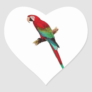 In The Tiki Room Heart Sticker