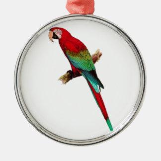 In The Tiki Room Silver-Colored Round Ornament