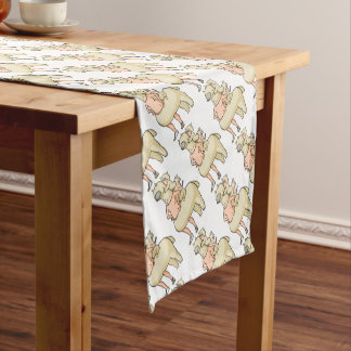 In the truth of the mosquito astonishment English Short Table Runner