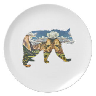 IN THE VALLEY PLATE