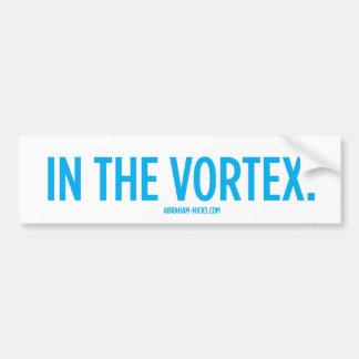 In The Vortex. Bumper Sticker