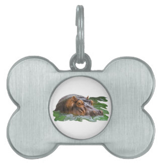 IN THE WATER PET ID TAG