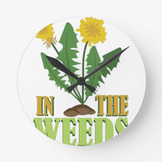 In The Weeds Wallclock