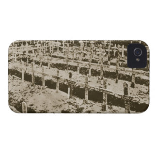 In the West nothing New: A German cemetery in Fran iPhone 4 Case