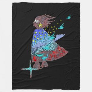 In the Wind Fleece Blanket