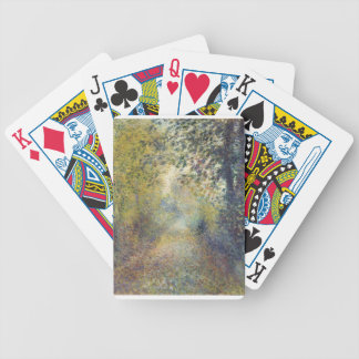 In the Woods Bicycle Playing Cards