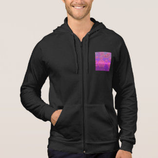 In the Zone, Abstract Rose & Amethyst Voyage Hoodie