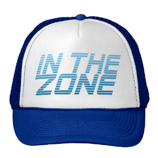 IN THE ZONE custom hat