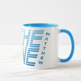 IN THE ZONE custom name mugs