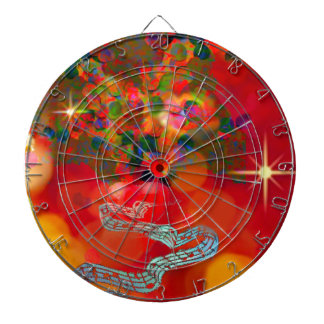 In these days our hearts are full of joy. dartboard