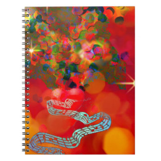 In these days our hearts are full of joy. notebooks