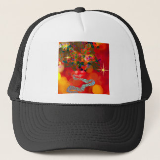 In these days our hearts are full of joy. trucker hat