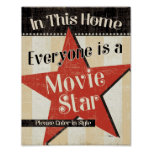 In This Home Everyone is a Star Poster