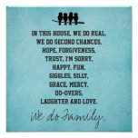 In this House We do Family Poster