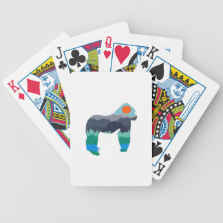IN THOSE MOUNTAINS BICYCLE PLAYING CARDS