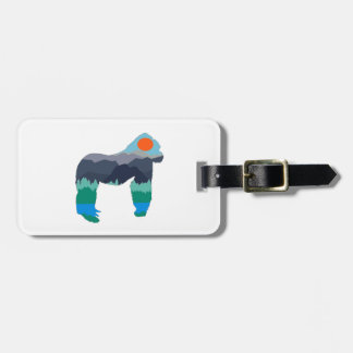 IN THOSE MOUNTAINS LUGGAGE TAG
