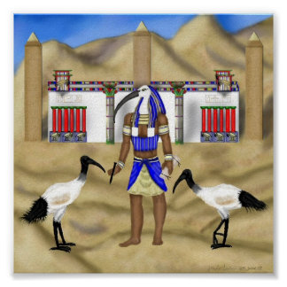 In Thoth's Image Poster
