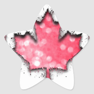 in to the sky, Canada Star Sticker