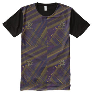 In Town Printed Panel Tee