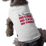 In Training Girl's Shirt Pet Tee