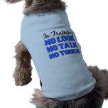 In Training male Shirt Pet Tee