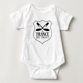 In Trance We Trust - Babies One Piece - White T Shirts