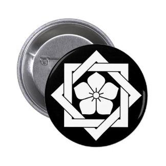 In union angle Kikiyou 2 Inch Round Button