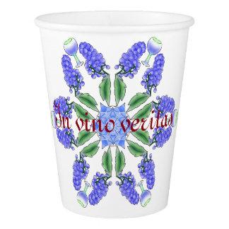 In vino veritas//Mandala Paper Cup