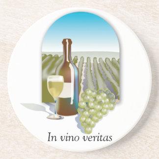 In Vino Veritas Wine coasters