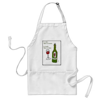 IN WINE THERE IS TRUTH print by jill Aprons